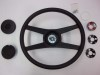4 SPOKE NK4 SPORT STEERING WHEEL WITH PAD, RETAINER AND MOUNT